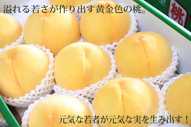 黄金桃(ゴールデンピーチ)